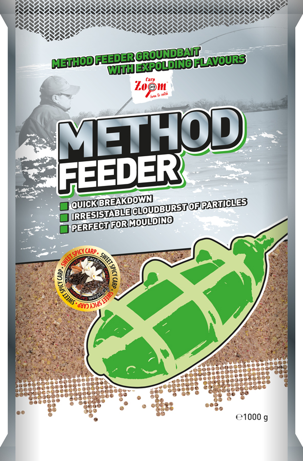 Method Feeder - Sweet Spicy Carp (rybacie - sladko korenisté) - CZ9899