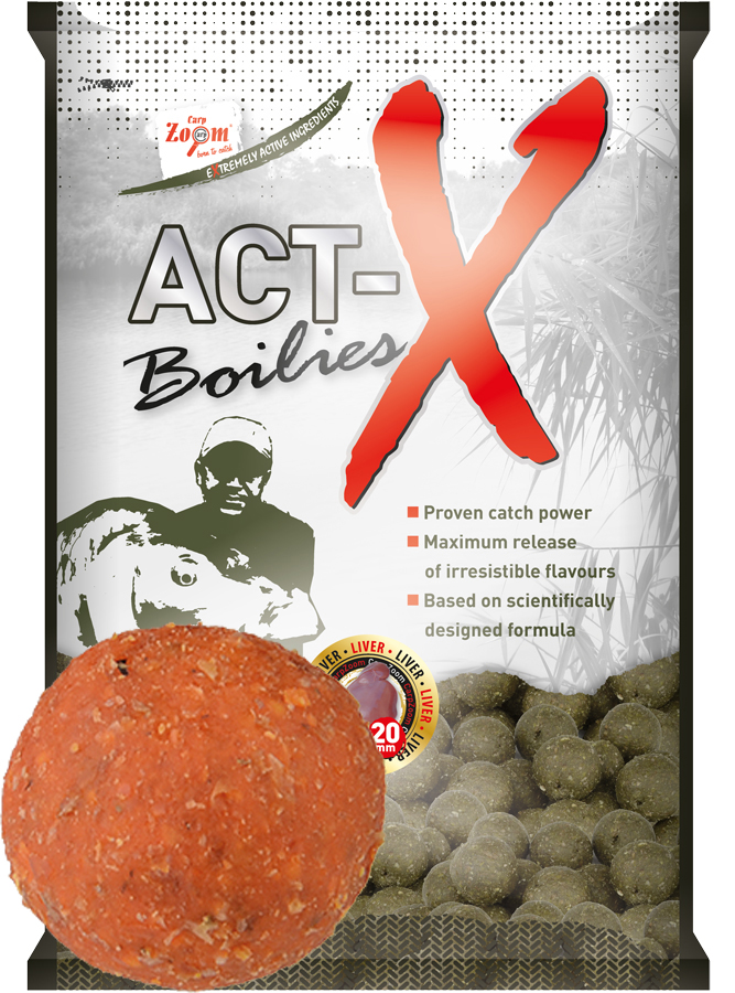 Act-X Boilies - 16mm - Exotic Fruits (exotické ovocie) - CZ9455