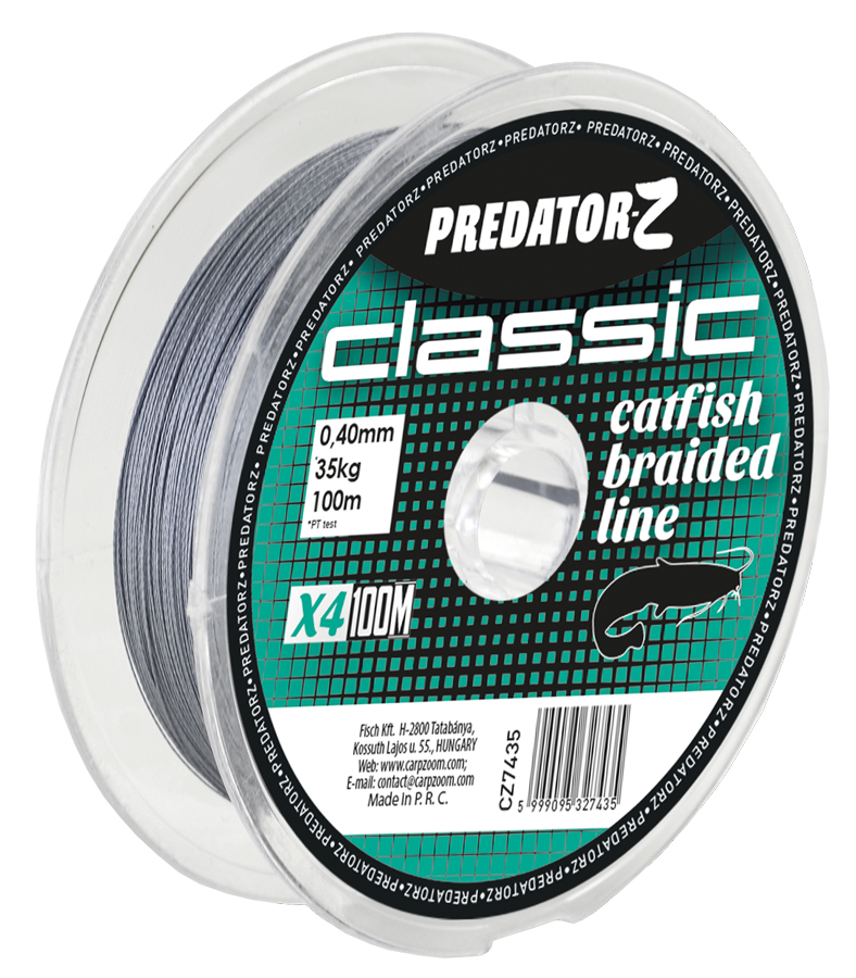 Predator - Classic Catfish Braided Line - 0,40mm-35kg - CZ7435