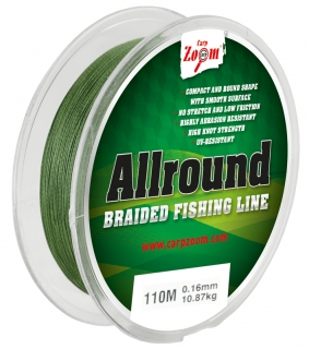 Allround spletaná šnúra - 0,16mm10,87kg - CZ0269