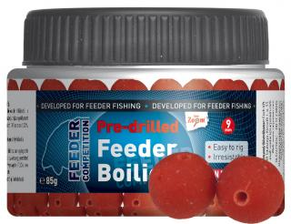 Pre-drilled Feeder Boilies - Robin Red (robin red) - CZ0812